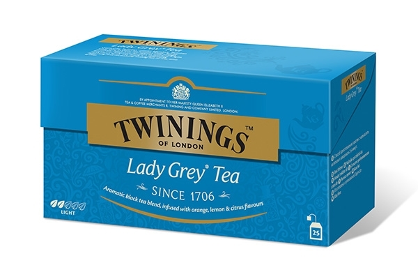 Lady Grey i breve 25 stk.